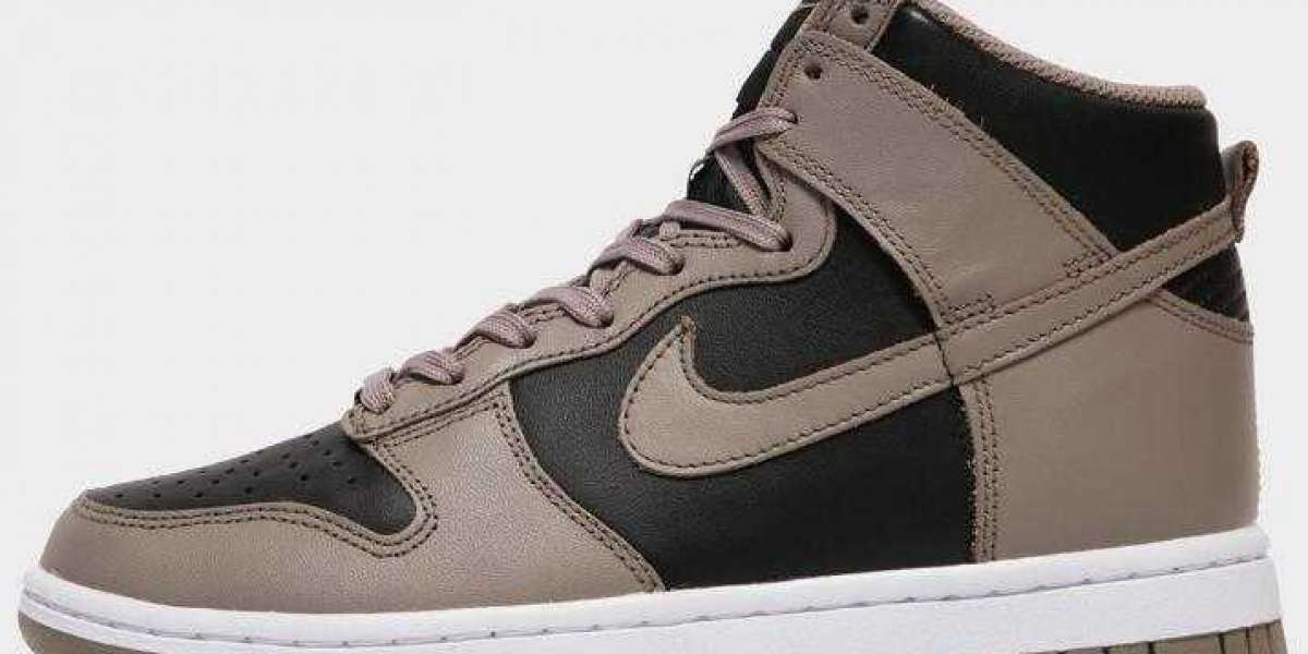 New Arrivals Nike Dunk High Coming With Moon Fossil And Black